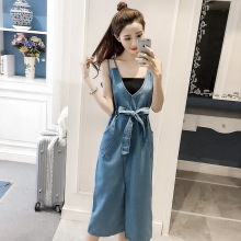 2018 Sexy Sleeveless Backless Bow Tie Spaghetti Strap Jeans Dress Women Suspender off shoulder Denim midi Dress Sundress Overall buttons casual denim bodycon dress summer outfits for women sleeveless sexy strap jeans dress midi overall ladies dress sundress