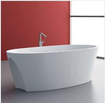 Badewannen Und Whirlpools Heimwerker Cupc Genehmigt Marcella Solid Surface Stein Badewanne Kunststein Badewanne 1700x800x480 Mm Wd030