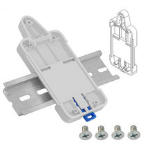1pcs adjustable safety wiring ducts case track housing standard switch  multi-function card box for sonoff basic/rf/ th10 dual