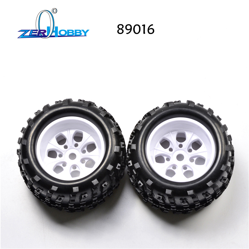 89014 89015 89016 RC CAR SPARE PARTS ACCESSORIES WHEEL RIMS TIRES WHEELS COMPLETE FOR HSP 1/8 SCALE OFF ROAD MONSTER TRUCK 94892