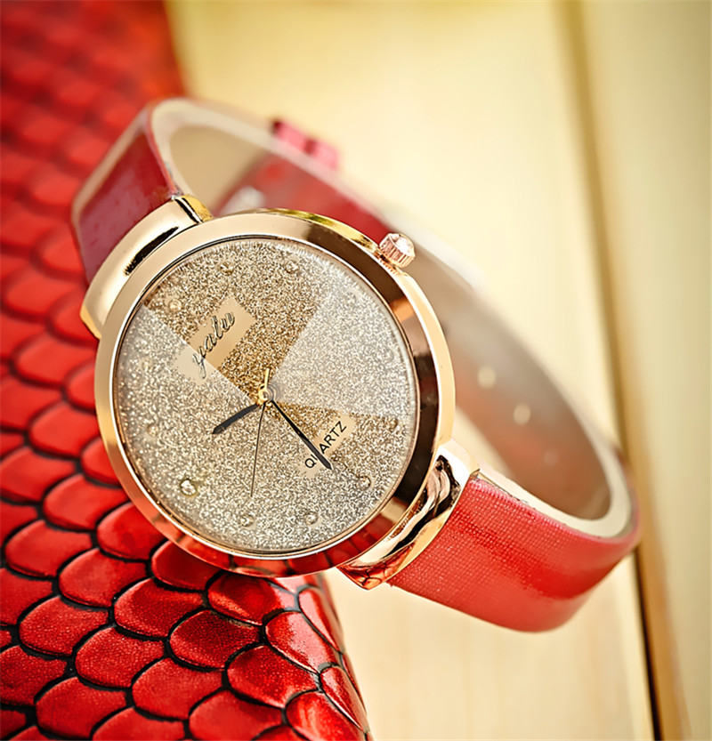 relojes mujerFashion <font><b>Unisex</b></font> <font><b>Montre</b></font> <font><b>Femme</b></font> <font><b>Reloj</b></font> <font><b>Mujer</b></font> <font><b>Leather</b></font> Stainless Men's Watch Quartz Wrist Watches Women Hot <font><b>Reloj</b></font> de dama image
