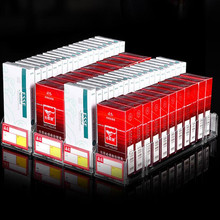 Plastic Supermarket Shelf Rack Cigarettes Products Automatic Pusher System in Retail Stores 4 pcs