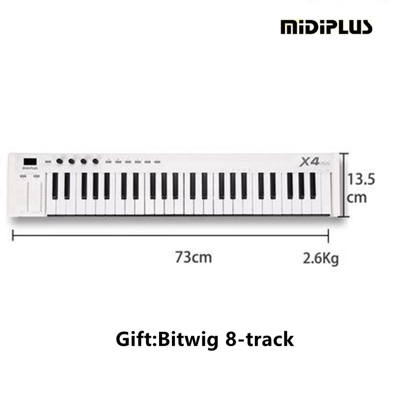 midiplus x4 mini 49 weighted keys midi keyboard midi controller in electronic organ from sports. Black Bedroom Furniture Sets. Home Design Ideas