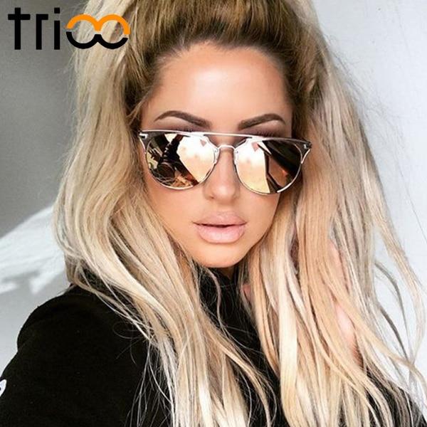 23b5fa7854 Sales QUAY AUSTRALIA HARDWIRE Sunglasses olive Men II45944 Source · TRIOO  Black Retro Round Men Sunglasses Brand Designer Shades UV400