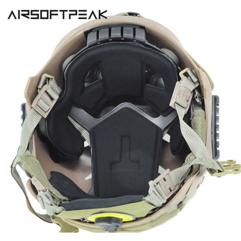 FMA Helmet Airsoft Military Tactical Protective Pads Protector for CP Helmet