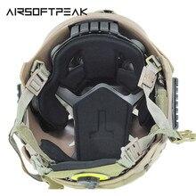 FMA тактические Защитные накладки для шлема защитные накладки для EXF БЫСТРЫЙ Прыжок военная игра Пейнтбол страйкбол шлем аксессуар