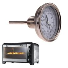 1/2″ NPT Pointer Kitchen Oven BBQThermometer Food Meat Temperature Meter Gauge Tools Temp Measurement