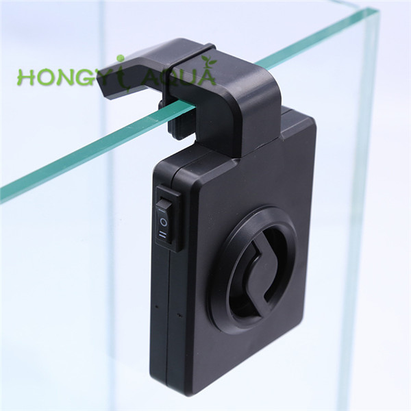 1 piece plastic mini cooling fan for aquarium aquatic plant tank hang on style fan for fish tank
