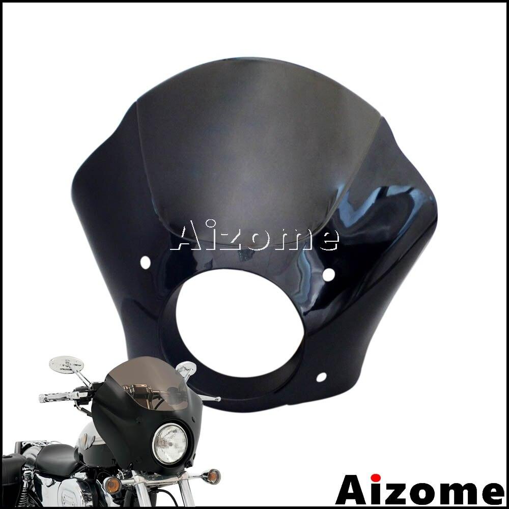 35 41mm Headlight Fairing Headlamp Gauntlet Fairing For Harley Sportster Iron 883 XL883 09 15 72