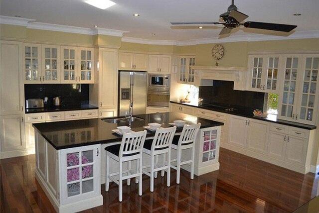 € 3171.0 |Aliexpress.com: Comprar Muebles de cocina modulares de estilo  canadiense de modular kitchen furniture fiable proveedores en VOVOKITCHEN l  ...