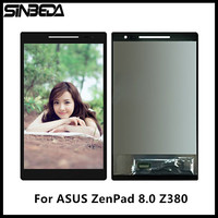 Sinbeda AAAA Quality Screen For ASUS ZenPad 8 0 Z380 Z380C Z380KL LCD Display Touch Screen