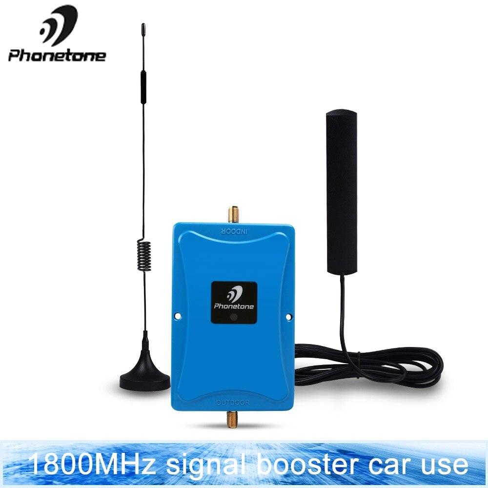 Amplificateur de signal 4g lte dcs 1800 mhz répéteur gsm 4g répéteur de signal mobile 1800 mhz bande d'amplificateur de signal cellulaire 3 pour voiture