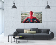 HD Print on canvas  Superhero poster, Spiderman, Iron Man, Captain America, Superman, etc.