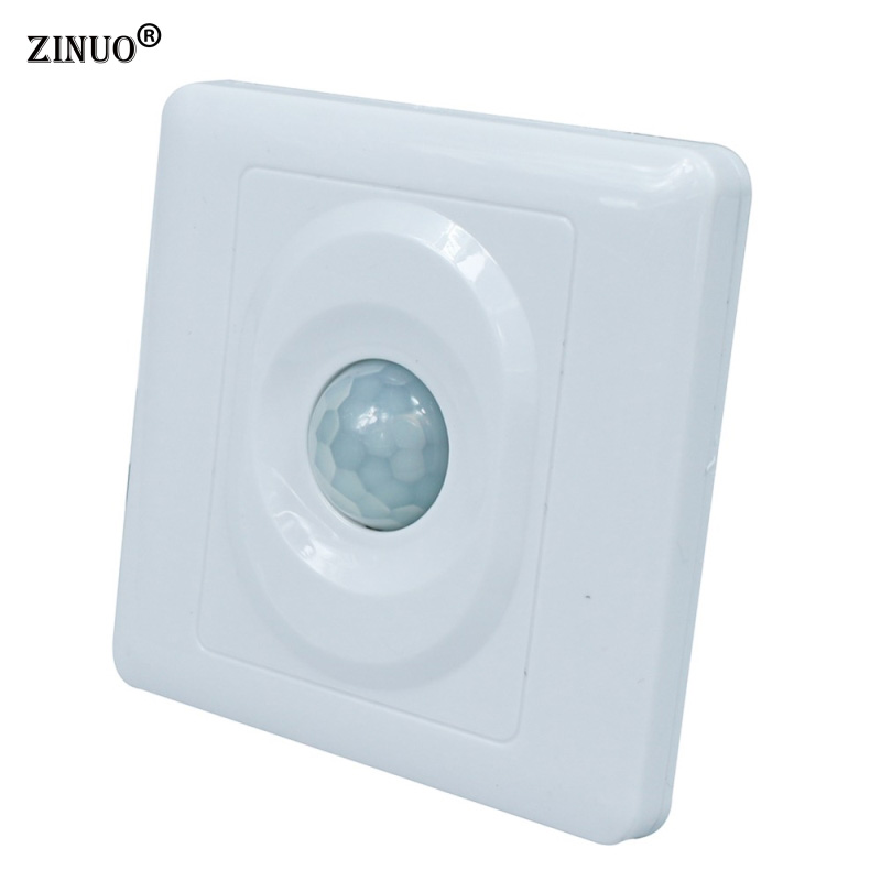 ZINUO Home LED light Human Body Detector Switch PIR Infrared Motion Sensor Switch Automatic  Switch Ceiling Mounted For Led Lamp sxzm pir infrared motion sensor switch human body induction save energy motion automatic led module light sensing switch