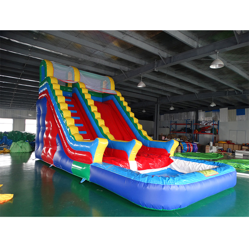 Inflatable Water Slide China: China Factory Sales PVC Inflatable Water Slide Jumping