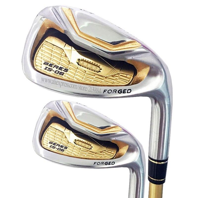 Cooyute Novos Clubes de Golfe HONMA S-06 4 star 4-11.Aw.Sw É-06 irons Set clubes de Golfe ferros de Golfe eixo da Grafita frete grátis