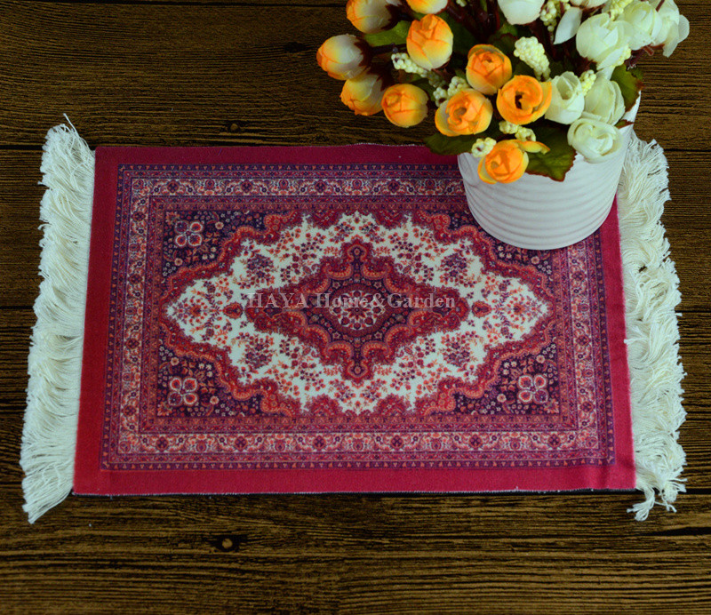 Persian rug mat pad gifts for the new year mouse pad home for Home decor gifts