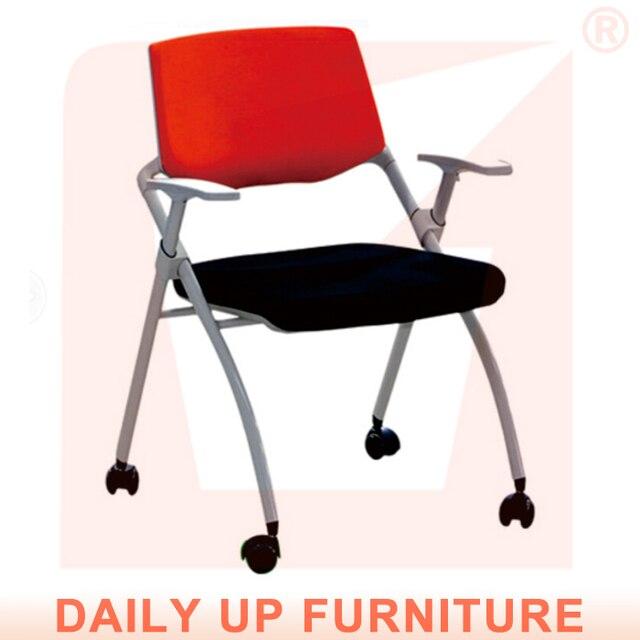 Metal acolchado plegable de la silla del brazo con tela acolchado de ...