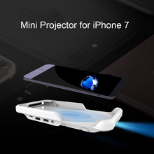 Mini Projector for iPhone 7 Portable Led Wifi Projector Smart DLP Projector HDMI for iPhone 6 Series Mobile Cinema Home Theater