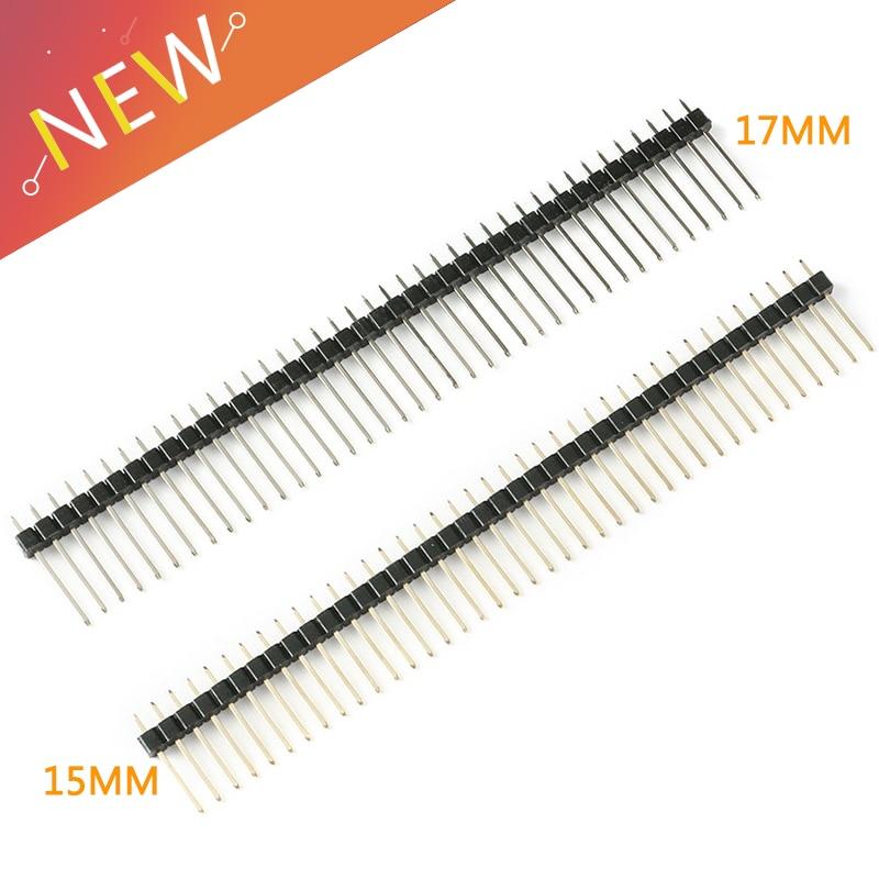5pcs-254mm-single-row-male-1-40p-breakaway-pcb-board-pin-header-long-15-17mm-connector-strip-pinheader-for-arduino