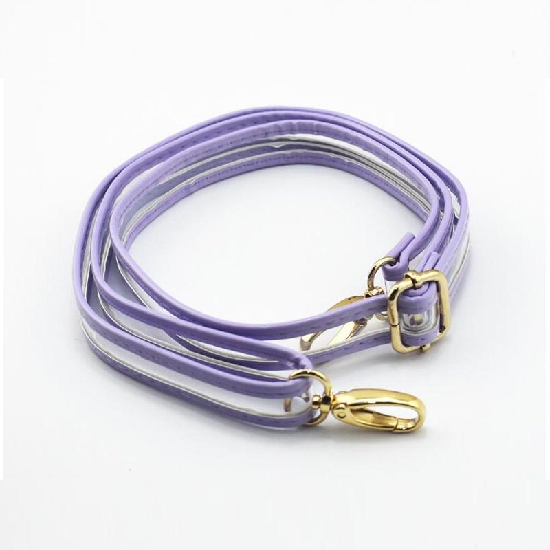 120CM PVC Handles Shoulder Bags Accessories Parts Bag Straps Gold Buckle Handbags Straps Replacement Girls Bag Belts 2019 new