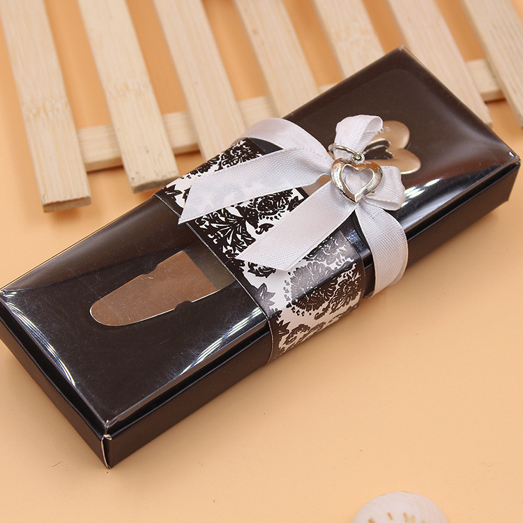 hot sell 100pcs/lot Love Heart-Shaped Handle Spreader Butter <font><b>Knives</b></font> <font><b>Knife</b></font> <font><b>Wedding</b></font> <font><b>Gift</b></font> <font><b>Favors</b></font> image
