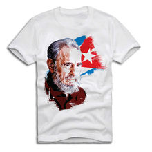 E1SYNDICATE T-SHIRT FIDEL CASTRO CHE GUEVARA REVOLUTION KUBA A327 Neueste 2018 Mode Hülse Shirts Mode top t(China)