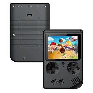 Image 3 - Coolbaby רטרו נייד מיני כף יד משחק נגן קונסולת 8 Bit 3 אינץ צבע LCD ילדים צבע משחק נגן מובנה 168 משחקי וידאו