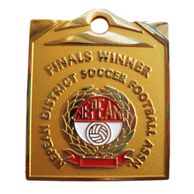 New Arrival Custom Nepean District Soccer Football Gold/Silver/Nickel Metal Gift Medal k200184