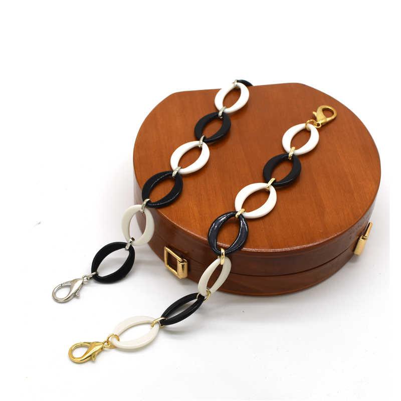 MM FOND 25 см Женская акриловая сумка декоративные элементы только легко застёгивающийся Дамский Наплечные ремни для сумок Сумочка ремни элегантная сумка ошибка