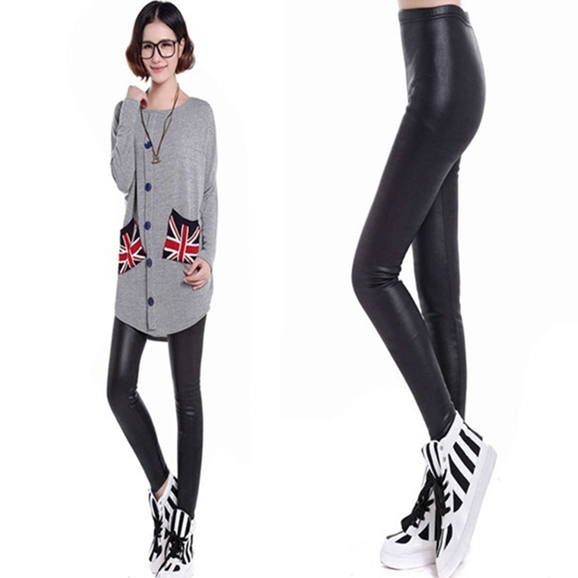 Women Winter Warm Boot Leggings Thick Velvet Skinny