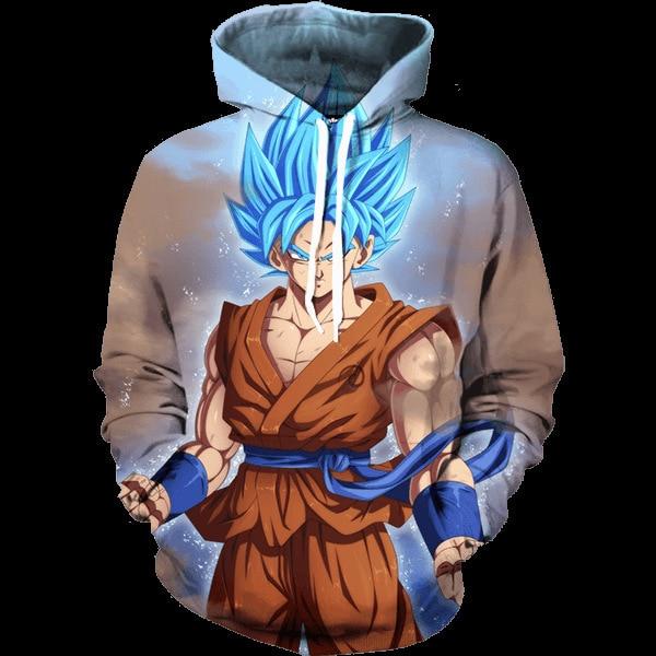 Dragon Ball Z Jacket Super Saiyan 3D Printed Sweatshirt
