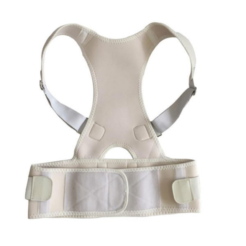 Men & women Adult Back Corset Posture Corrector Back Shoulder Lumbar Braces Spine Support Belt Posture Correction Back Support Q