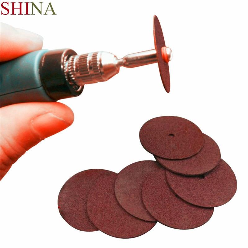 SHINA 36PCS Resin Cutting Discs Kit Electric Grinding Machines Accessories Grinding Discs  Metal Cutting Saws Dremel Rotary Tool