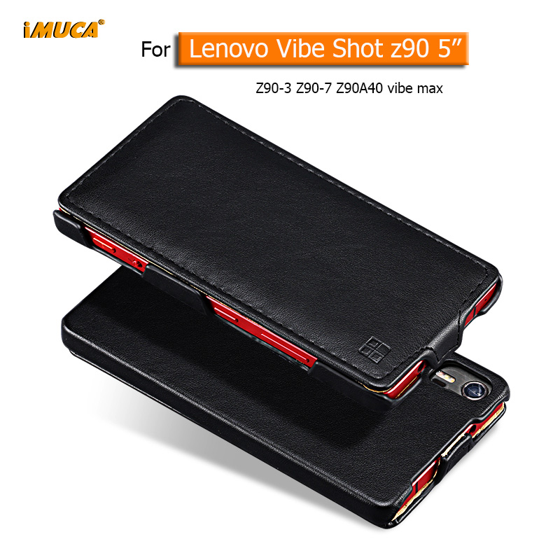 Lenovo Vibe Shot Case Lenovo Vibe Shot Z90 Z90-7 Cover Luxury Flip Leather Case original iMUCA mobile phone accessories capa