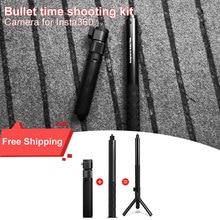Insta360 ONE X и ONE Многофункциональный пулевидный Комплект времени/Аксессуары для селфи палка вращения ручка пулевидный набор времени insta 360X