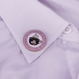 Image 3 - Smashing the patriarchy Lapel Pin feminist women gifts The Future is Female Brooch Enamel pin