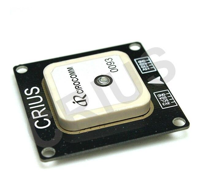 ФОТО Free Shipping CRIUS APM Pixhawk LEA-6H GPS Module w/Compass HMC5883L for APM Flight Controller SKU:10931