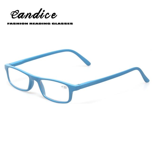 5e7b3499f58 New Super light ultra-thin Plastic Glasses square Frame Fashion Women and  Men Reading Glasses Classic Design Read Glasses