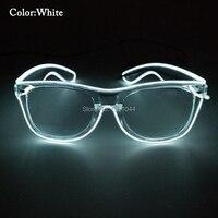 Için gözlük Kızdırma Parti Olay için 30 adet Toptan Ürün EL Tel Flaş Gözlük Parti DIY Dekorasyon Aksesuarları Ses Deiver