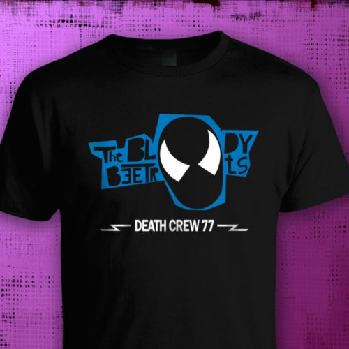 US $11 74 16% OFF|Bloody Beetroots Death Crew 77, MUSIC T SHIRT Cool Punk  Rock Dance SIZE TO 3XL New T Shirts Funny Tops Tee New Unisex Funny-in