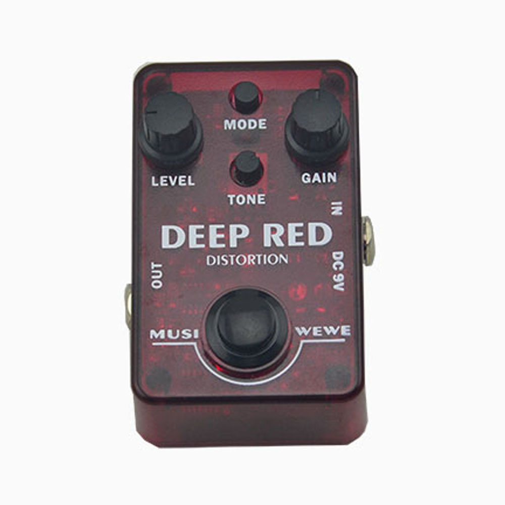 NEW  Distortion  Effect Pedal Electric Guitar  true bypass Mini   pedal effect with cable  Guitarra Effect Pedal free shipping electric guitar pedal bass true bypass effect white custom biyang controls level top treble guitarra pedales new