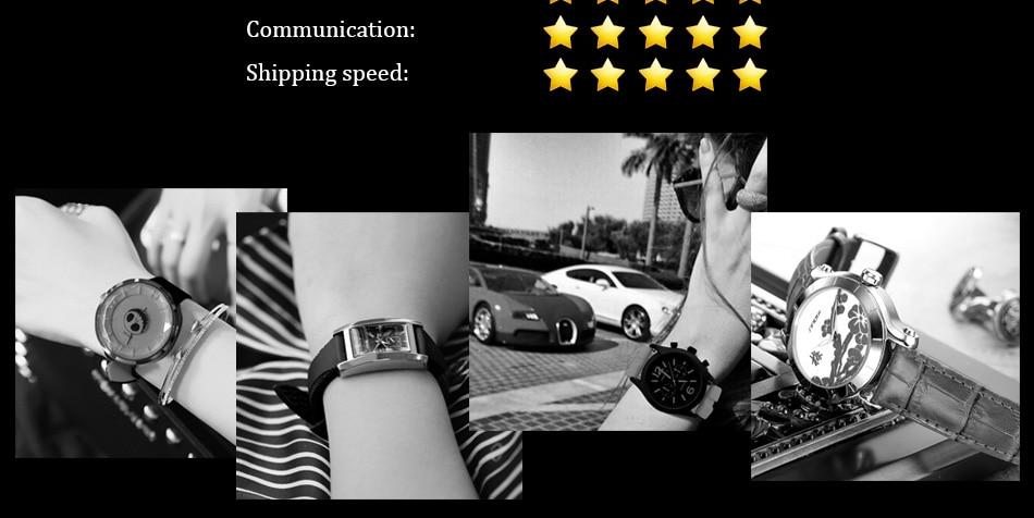 SINOBI Surfing Clock 3Bar Waterproof Watch Mens Sports Wristwatch Designer Branded Chronograph Male Spy Geneva Quartz-watch 007 45