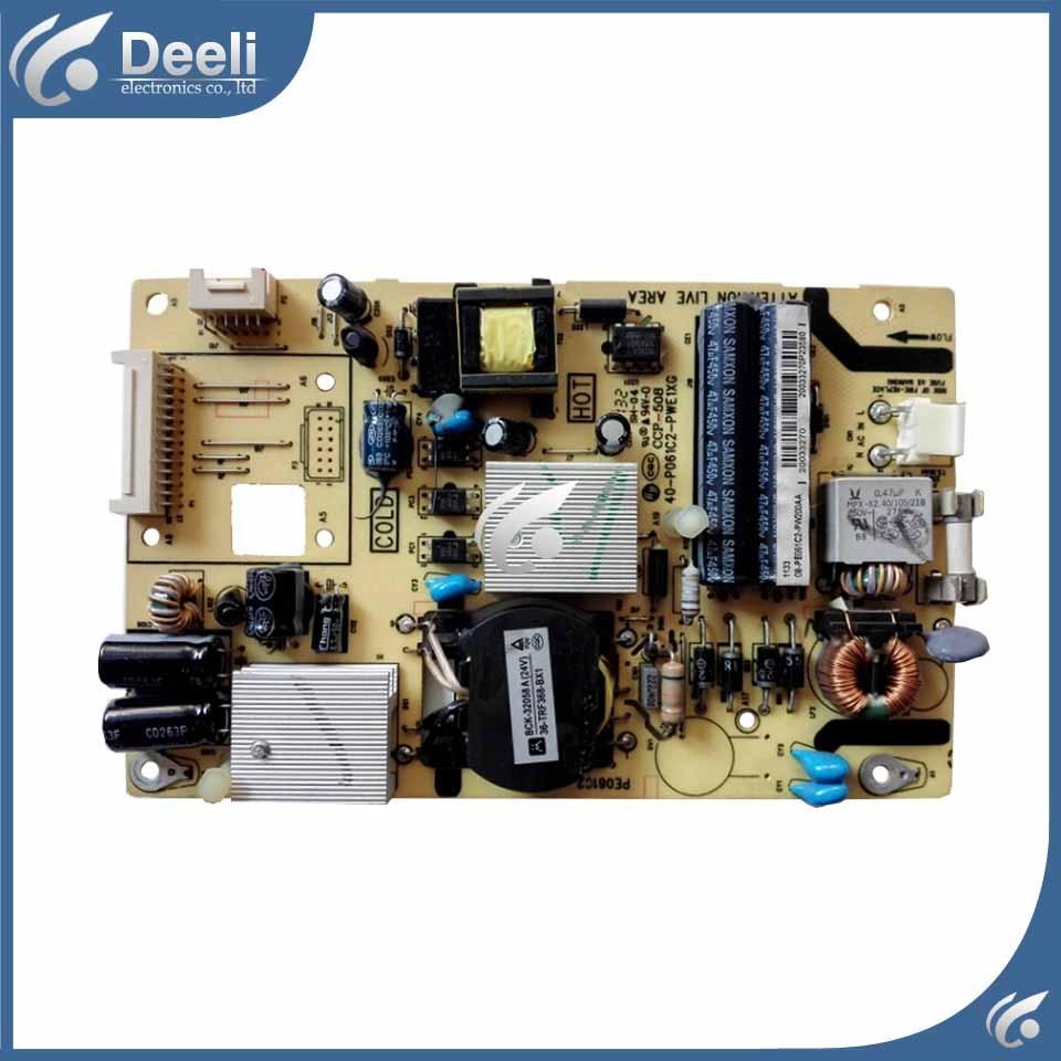 power supply board 40-P061C2-PWE1XG good working good working original used for power supply board led50r6680au kip l150e08c2 35018928 34011135