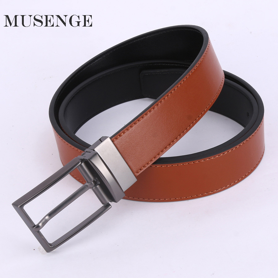 Leather Belt Designer Belts Men High Quality Retro Pin Buckle Ceinture Homme Mens Belts Luxury Man Reversible Cintos Para Homens