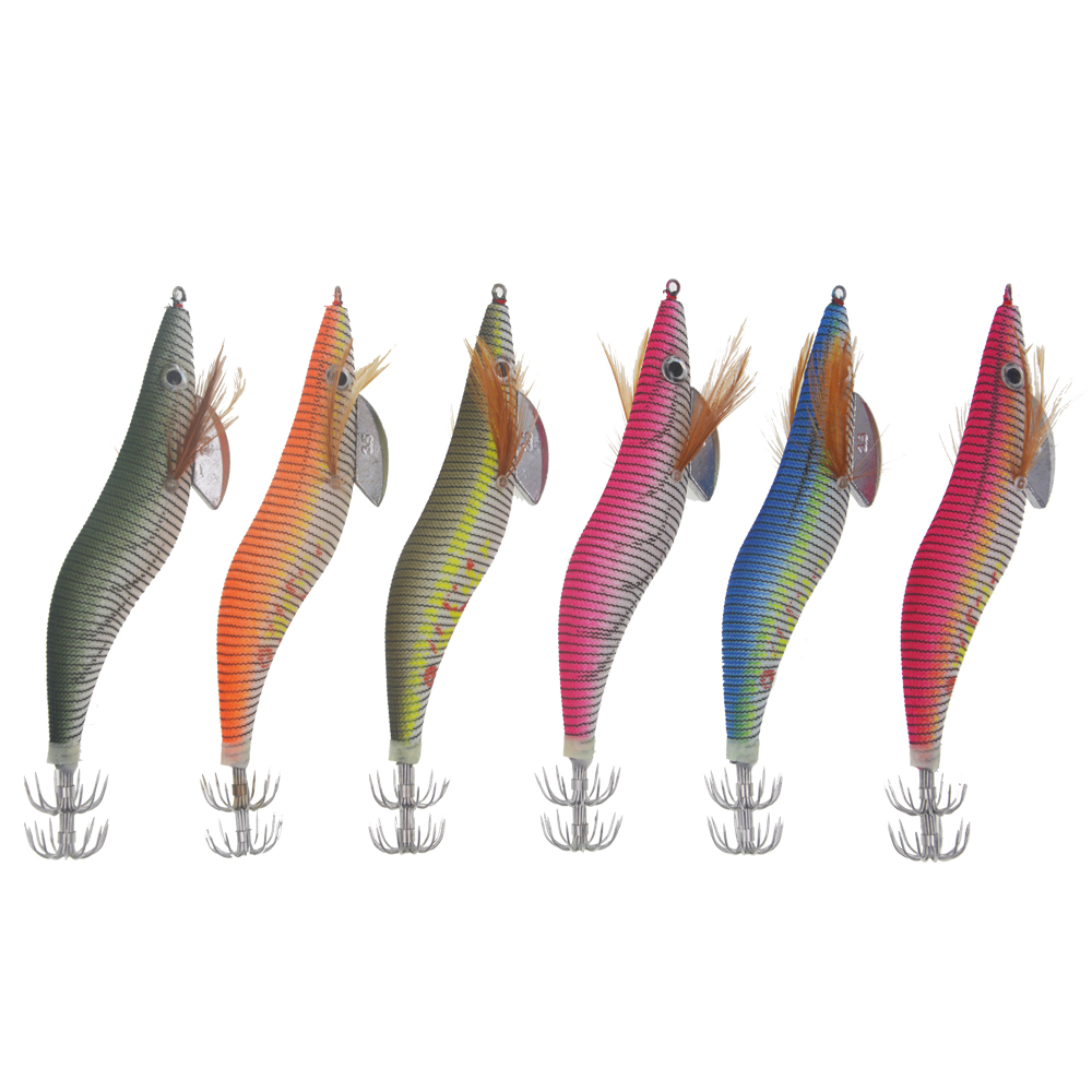 1oz Man Cave Tackle Bucktail Jigs 5 Pack 6 Skirt Colors