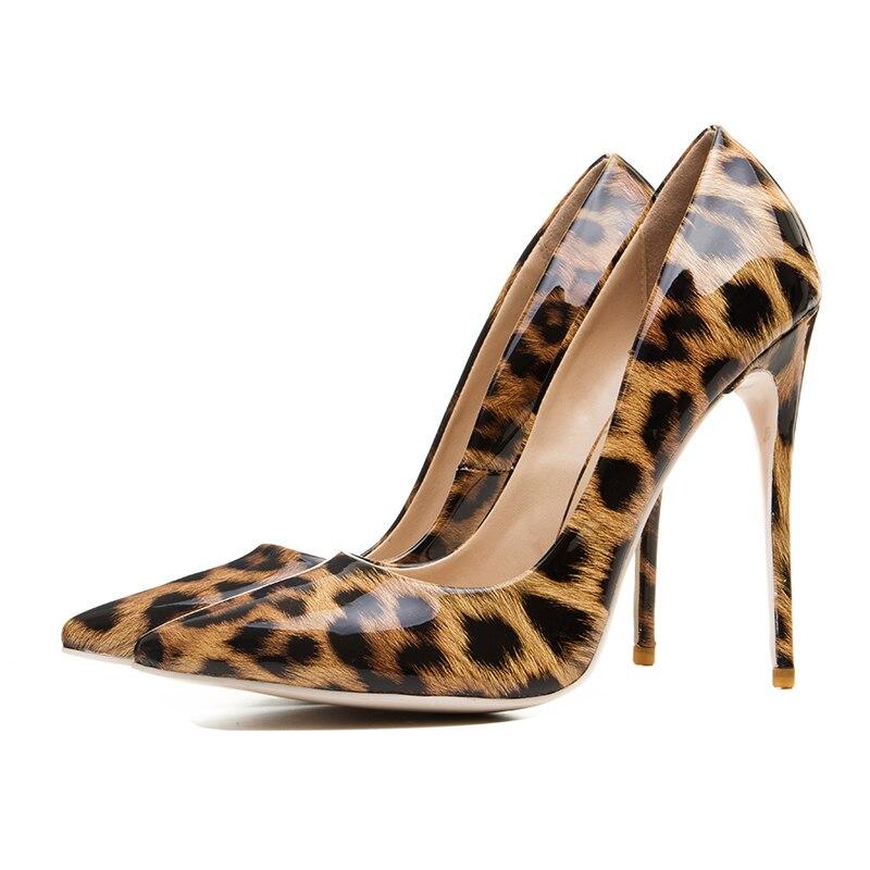 Nueva Punta Yifsion Ee Partido Mujeres Tamaño 3 Bombas Niza 10 uu Estilo Sexy 5 Llegada Thin Estrecha Zapatos Más D0336 Tacón Leopard d88qZr4