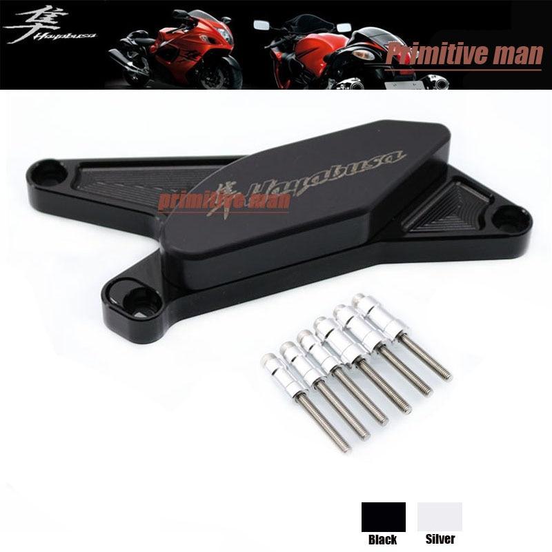 ФОТО For SUZUKI HAYABUSA GSX1300R GSX 1300R 1999-2014 Motorcycle Accessories Engine Protector Guard Cover Frame Slider Black