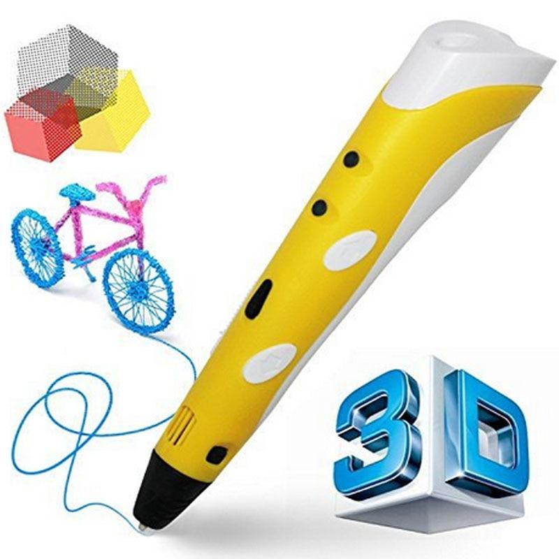 Penobon Magic 3D Printer Pen With 1.75mm PLA Filament 3D Pen caneta 3D Drawing Pen Creative Gift For Kids Painting Style 3D Pen