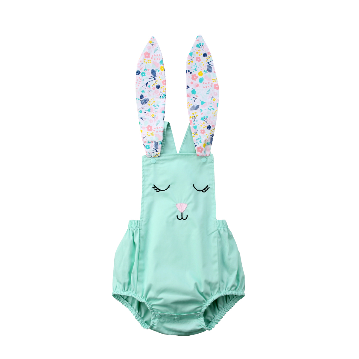 Toddler Newborn Baby Girl Rabbit Dress Up Cosutme Bodysuit Playsuit Jumpsuit Outfit Clothes Summer Clothes Cute 0-18m Beneficial To Essential Medulla Bodysuits